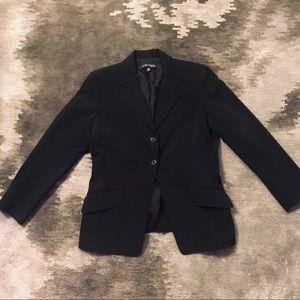 ANNE KLEIN Black Blazer Suit Jacket